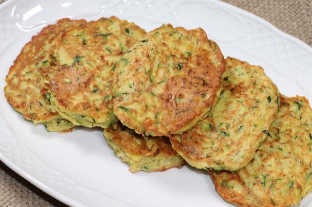 Receta Pancakes Calabacín
