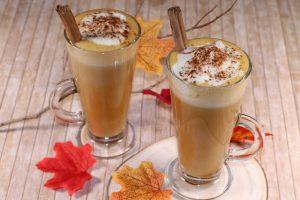 Receta de Café Latte con Calabaza