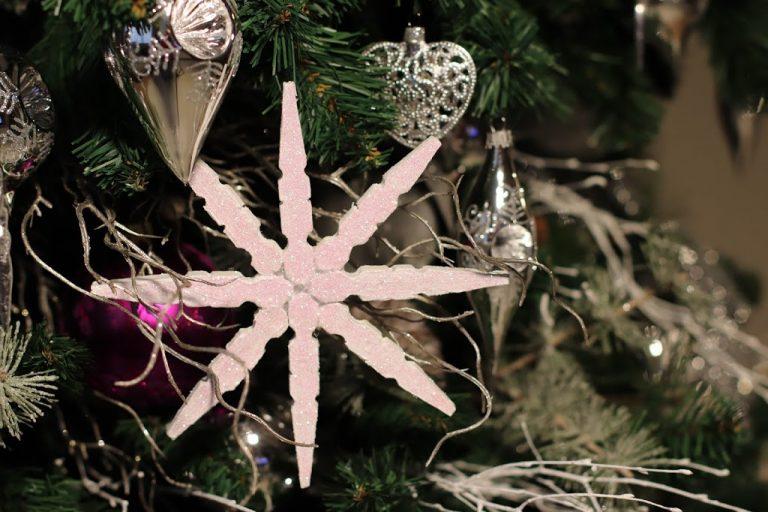 Copos de Nieve DIY Con Pinzas