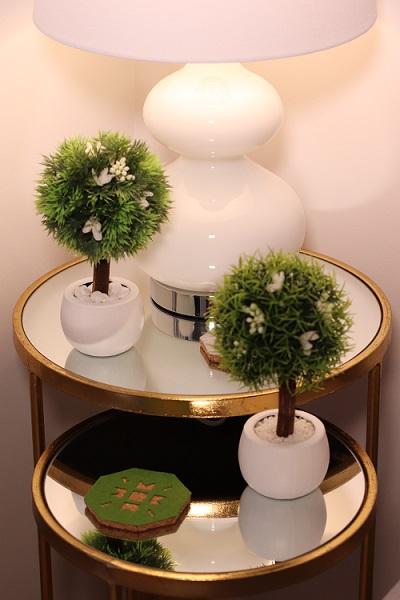 Arbolitos Decorativos en la Mesita