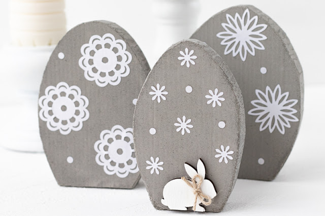 Decoración de Pascua Para Casa de Cemento