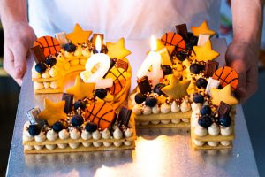 Receta Tarta Cumpleaños Números