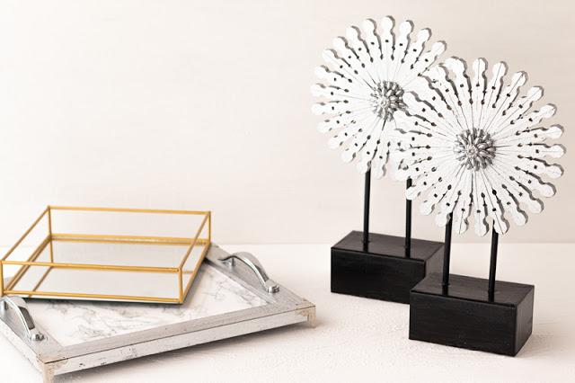 3 DIY Decorativos Habitación Bandejas Decorativas, Decoración Pinzas
