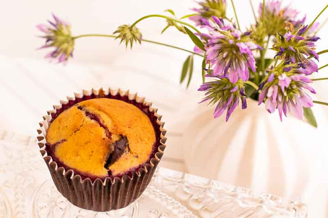 Cómo Hacer Muffins de Plátano y Chocolate