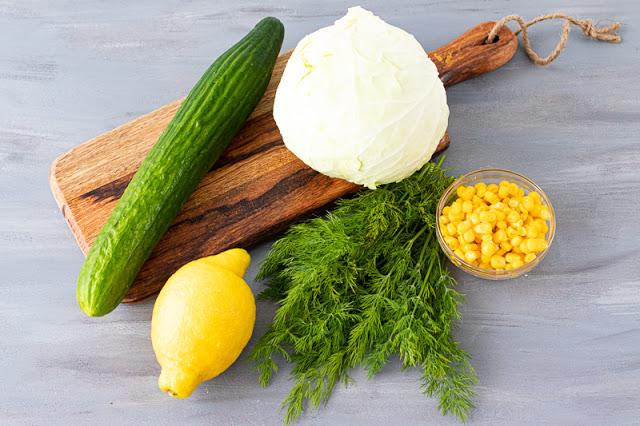 Ensalada Col Repollo Ingredientes