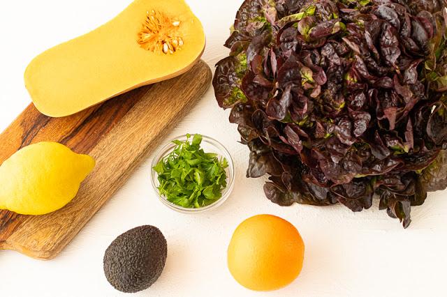 Ensalada Lechuga y Naranja Ingredientes