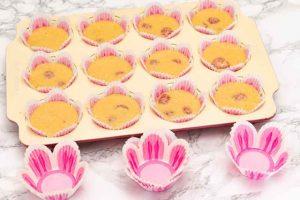 Hornear llos Muffins con Harina de Maíz