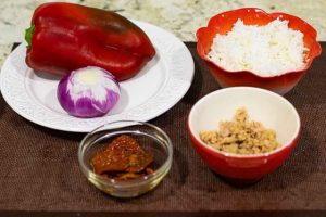 arroz con atun preparar ingredientes