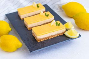 cheesecake de limon con ricotta