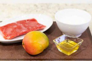 Helado de Yogur Preparar Fruta