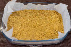 hornear masa cheesecake de limon con ricotta