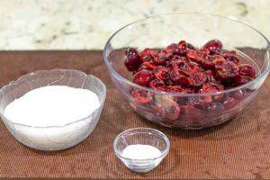 mermelada preparar cerezas