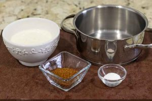 panna cotta chocolate y naranja agregar nata