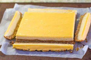 recortar cheesecake con ricotta