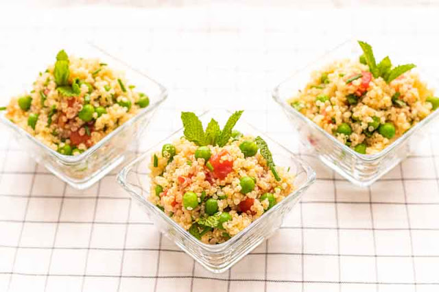 Tabule de Quinoa Preparada