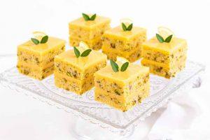 bocaditos de pistachos y limon