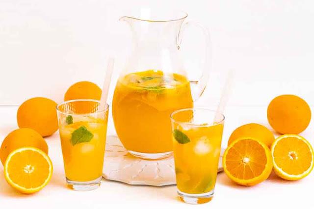 limonada de naranja