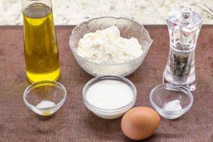 preparacion de ingredientes para tortitas de maiz