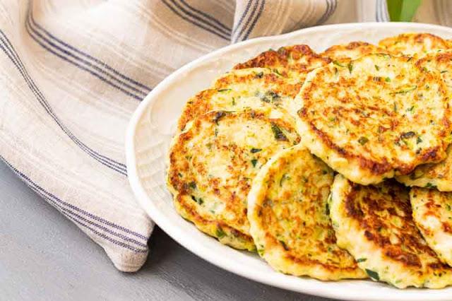 receta de tortitas de pavo y calabacin