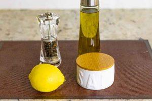 alinar tabule con quinoa y coliflor