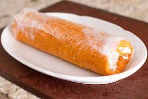 dejar enfriarse rulo de queso