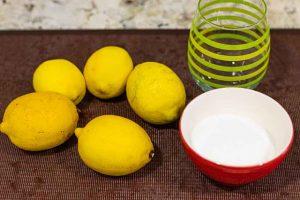 limonada con arandanos y te rosa mosqueta agregar azucar