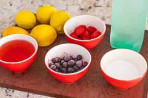limonada con te de rosa mosqueta ingredientes