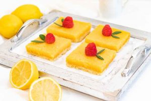 pastelitos de limon y naranja