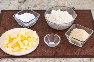 pastelitos de limon y naranja preparar ingredientes