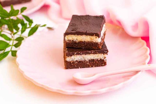 receta de brownie con relleno de coco