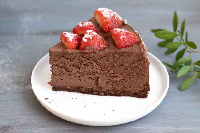 receta de cheesecake de chocolate con ricotta