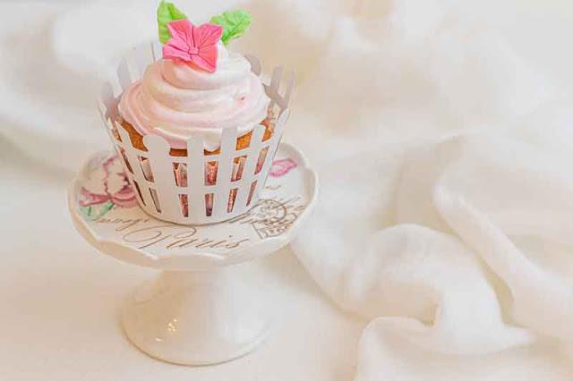 receta de cupcakes de limon y frambuesa