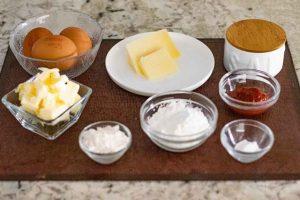 rulo de queso preparar ingredientes