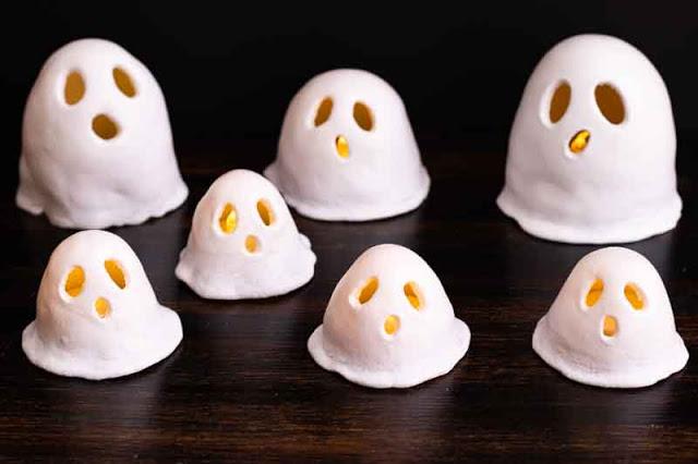fantasmas halloween porcelana rusa