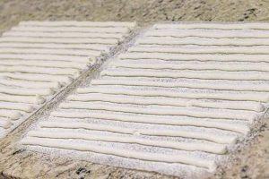 mini marshmallows de vainilla hacer tiras