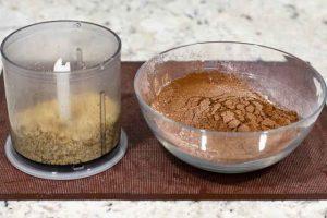 pastel con calabacin agregar nueces picadas