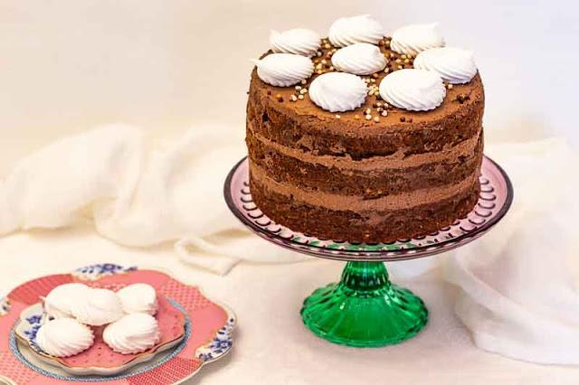 pastel con calabacin nueces y arandanos