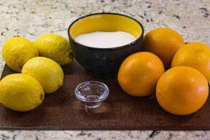 cascaras de naranja confitadas preparar ingredientes