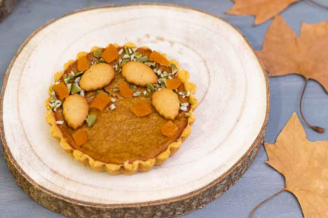 receta de tartaletas con relleno de calabaza