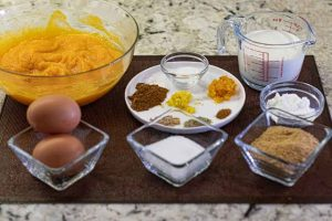 tartaletas de calabaza preparar ingredientes