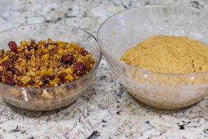 agregar frutos secos a masa de stollen