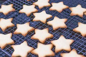 hornear galletas de vainilla