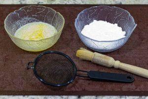 pincelar stollen con mantequilla