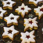 receta de galletas rellenas con mermelada y chocolate