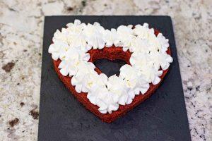 montar pastel de terciopelo por capas