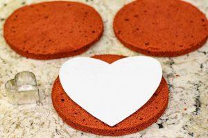preparar forma para pastel de terciopelo