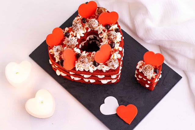 receta de pastel de terciopelo rojo