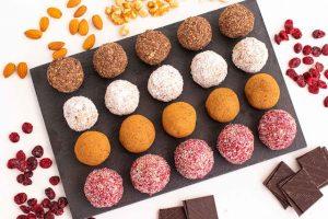 dulces saludables frutos secos