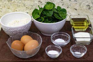 pastelitos salados con espinacas preparar ingredientes