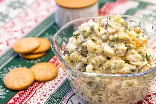 receta de ensaladilla rusa casera